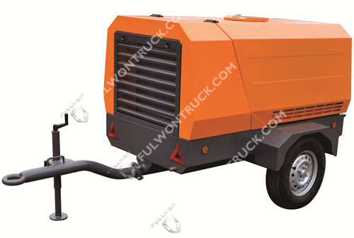 Fullwon Small Electric Mobile Screw Air Compressor