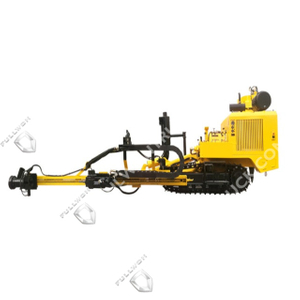 SW410 Crawler Mounted Pneumatic Top Hammer Drill Rig by Fullwon