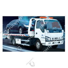 Fullwon Road Flat Bed Wrecker Truck 3 Ton