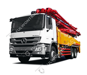 38m Concrete Pump Truck with Benz Chassis Supply by Fullwon