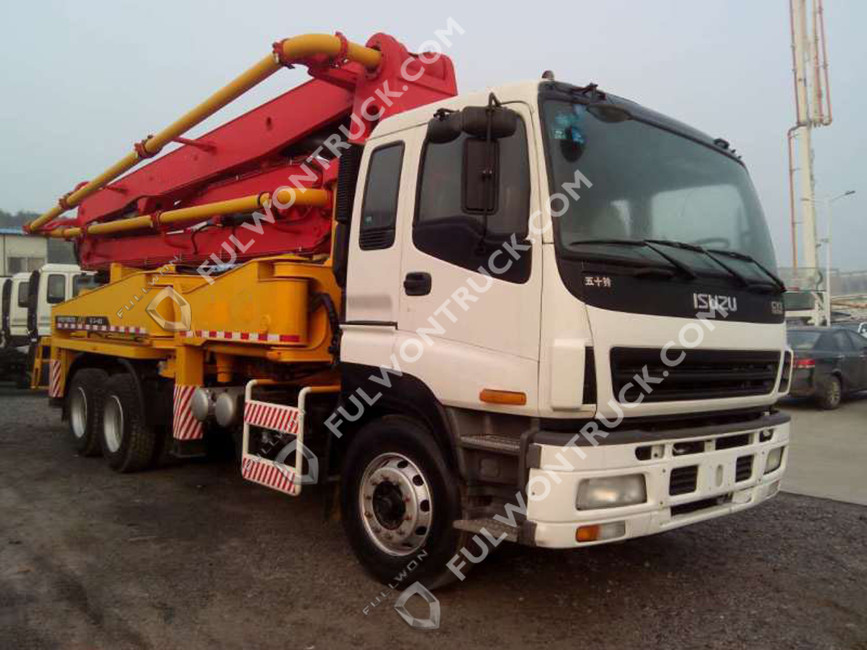 38m Concrete Pump Truck with Isuzu Chassis Supply by Fullwon - Buy