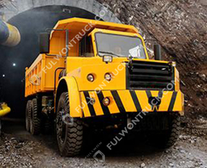 SWK360B Tunnel Dump Truck Supply by Fullwon