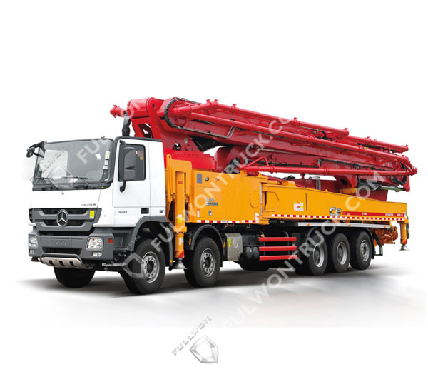 62m Concrete Pump Truck with Benz Chassis Supply by Fullwon