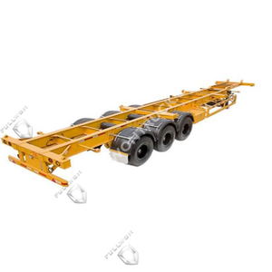 Fullwon 40ft Skeleton Semi Trailer –delivery for 40ft Or 20ft Containers